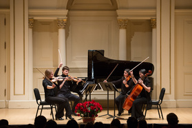 New England String Quartet at Carnegie Hall, Weill Recital Hall